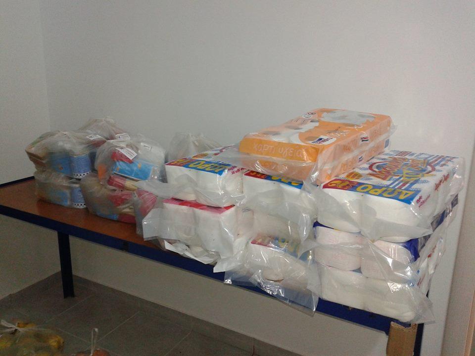 Ξεκίνησε πλέον η συλλογή τροφίμων εν όψει των Χριστουγέννων!