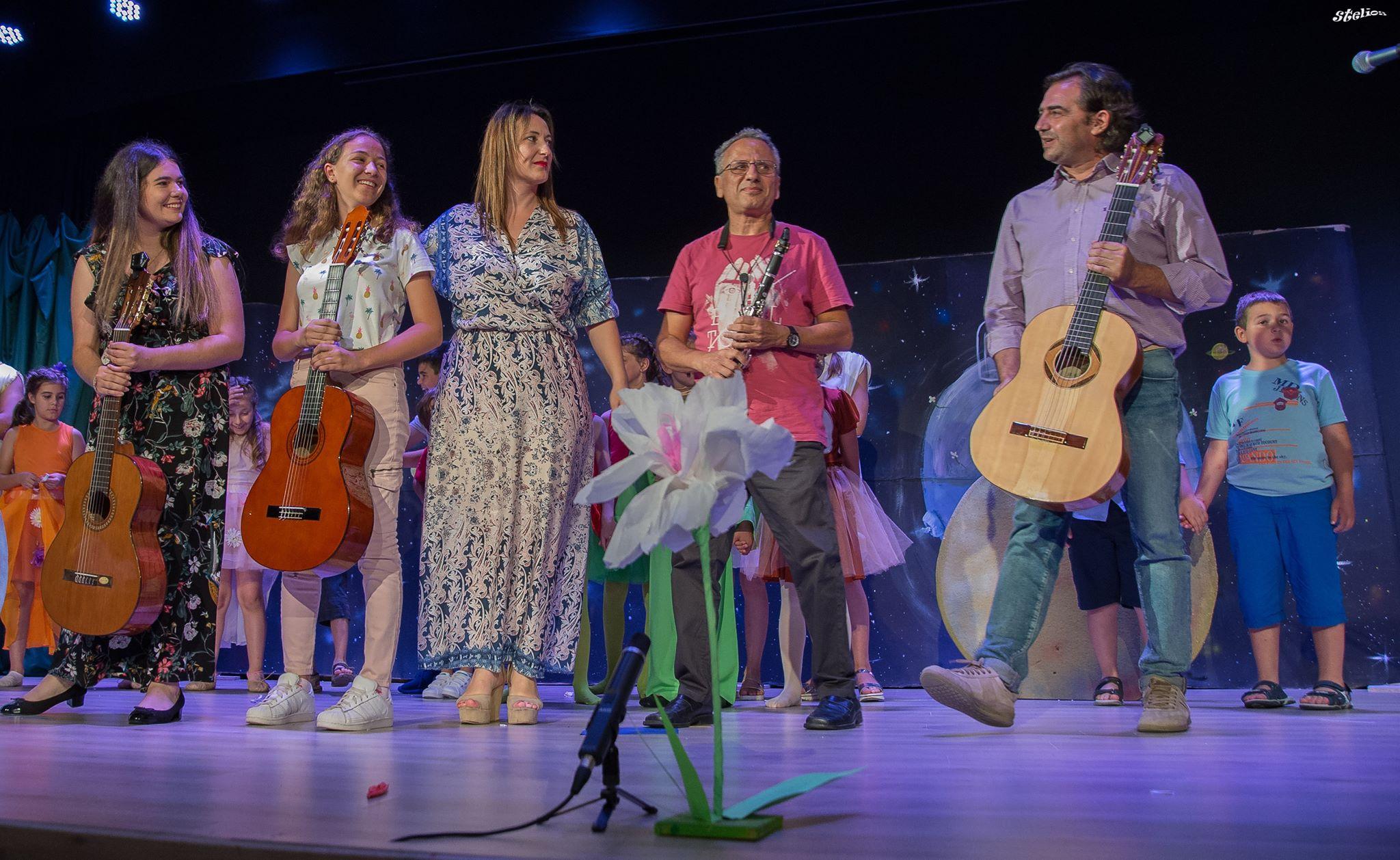 10 Ιουνίου 2018 εκδήλωση του Καλλιτεχνικού «Εργαστηρίου Ονείρων» Σαν Παραμύθι